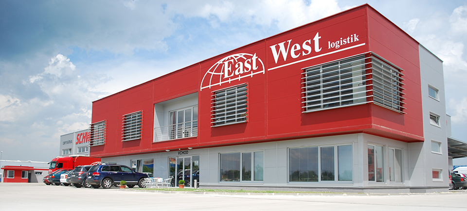 East West Logistik budova - eastwestlogistik.sk