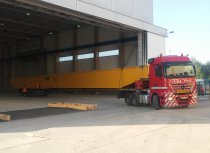 4-axle extendable flat deck trailer